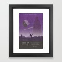 Return of the Jedi Movie Poster Framed Art Print