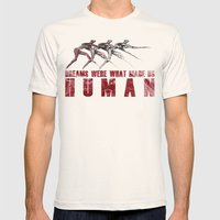 Dreams... Mens Fitted Tee Natural SMALL
