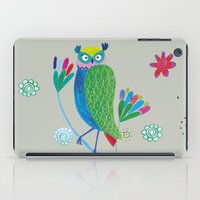 owl2 iPad Case