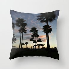santa barbara sky Throw Pillow