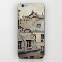 Paris roofs iPhone & iPod Skin