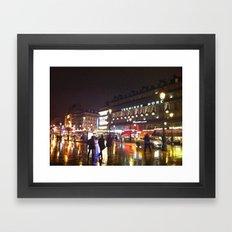 Paris: City Street Framed Art Print