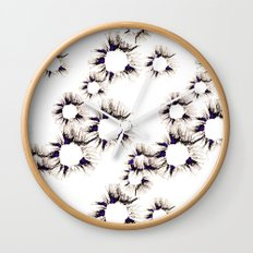 Lace Flower Wall Clock