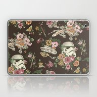 Laptop & iPad Skin featuring Botanic Wars by Josh Ln