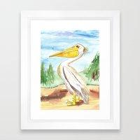 Lake of the Woods Framed Art Print