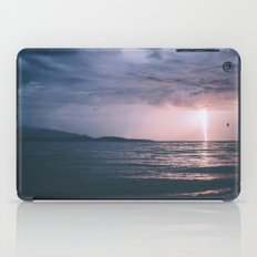 Lightening Over The Stra… iPad Case
