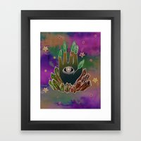 To See Framed Art Print