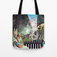 Nexus Point ( Collaborat… Tote Bag