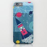 iPhone Cases featuring Spaceship by Kakel