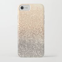 gold iPhone & iPod Cases featuring  GOLD by Monika Strigel