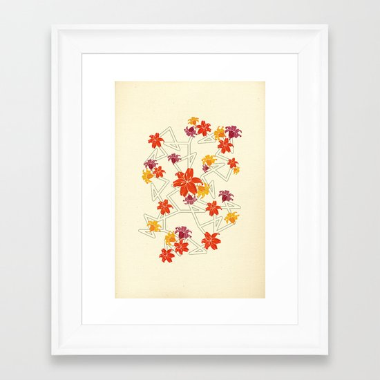 A complicated apology Framed Art Print