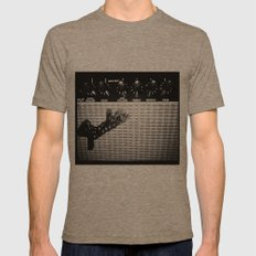 Keep on rockin' in the free world Mens Fitted Tee Tri-Coffee SMALL