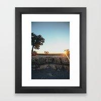 Sunset, Grand Canyon Framed Art Print