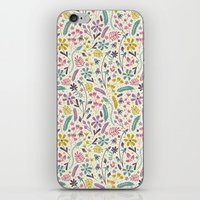 Retro Blooms (Candy) iPhone & iPod Skin