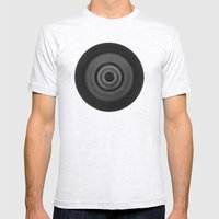 Demi-Stock White Piece 1 Mens Fitted Tee Ash Grey SMALL