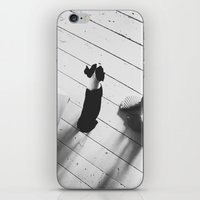 Puppy and Feet iPhone & iPod Skin