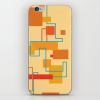 Rectangles iPhone & iPod Skin