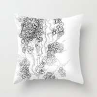 The Floating Fantasy Throw Pillow