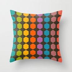 geometry game Throw Pillow