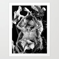 Pleasure Garden Art Print
