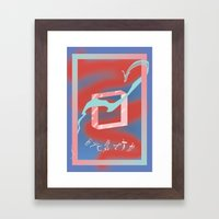 Inseguridades  Framed Art Print