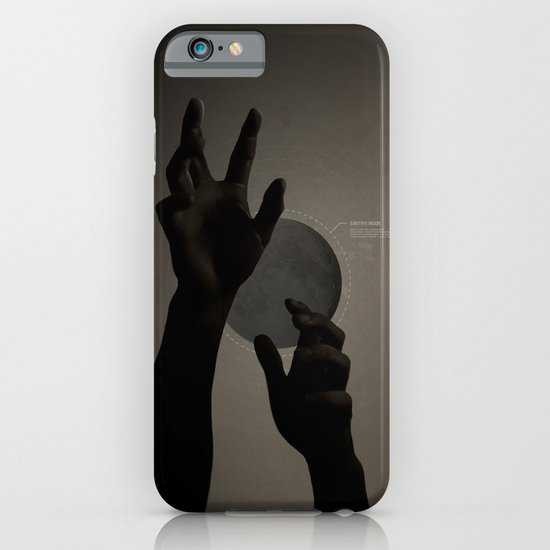 Hand's on the Moon iPhone & iPod Case