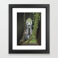 Temple Of The Gatekeeper Framed Art Print