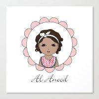 Al Anood Canvas Print