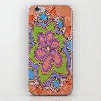 Drops And Petals 4 iPhone & iPod Skin
