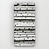 Dots and Lines iPhone & iPod Skin