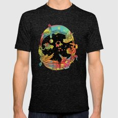 Depth of Discovery (A Case of Constant Curiosity) Mens Fitted Tee Tri-Black SMALL