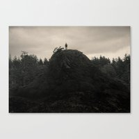 Up In The Woods, Down In… Canvas Print