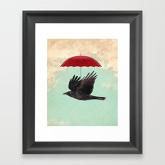 Raven Cover Framed Art Print