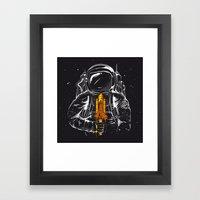 Space Popscicle Framed Art Print