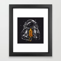 Space Popscicle Framed Art Print