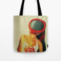 SEX ON TV - TONGUE by ZZGLAM Tote Bag