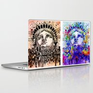 New York City Pop Art Laptop & iPad Skin