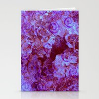 Hydrangea Paisley Abstra… Stationery Cards