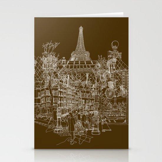 Paris! Stationery Card
