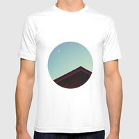 The Moon and The Red House Mens Fitted Tee White SMALL