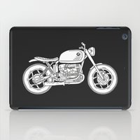 BMW R80 - Cafe Racer series #4 iPad Case