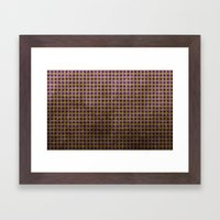 Royal Purple - Textured … Framed Art Print