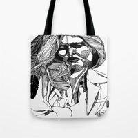 B&W Fashion Illustration… Tote Bag
