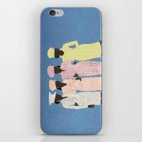 Besties iPhone & iPod Skin