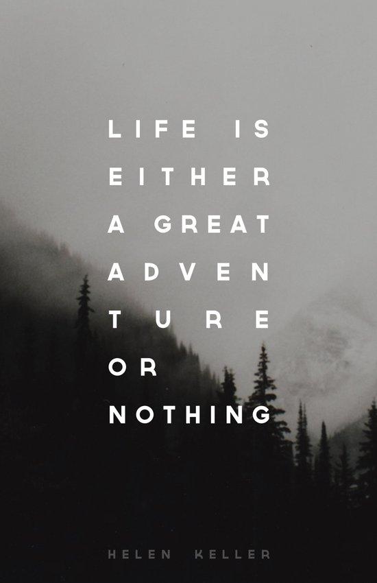 Adventure or Nothing Art Print