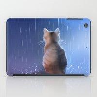 under rainy days like these iPad Case