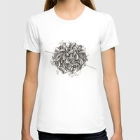 The Knitting Womens Fitted Tee White SMALL