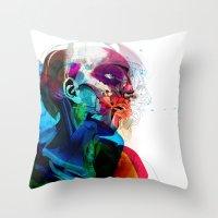 Anatomy Gautier V2  Throw Pillow