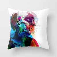 Anatomy Gautier v2  Throw Pillow