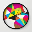 Tumble Wall Clock